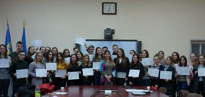 Тренінг з європейської інтеграції: результати проведення весняного семестру 2019
